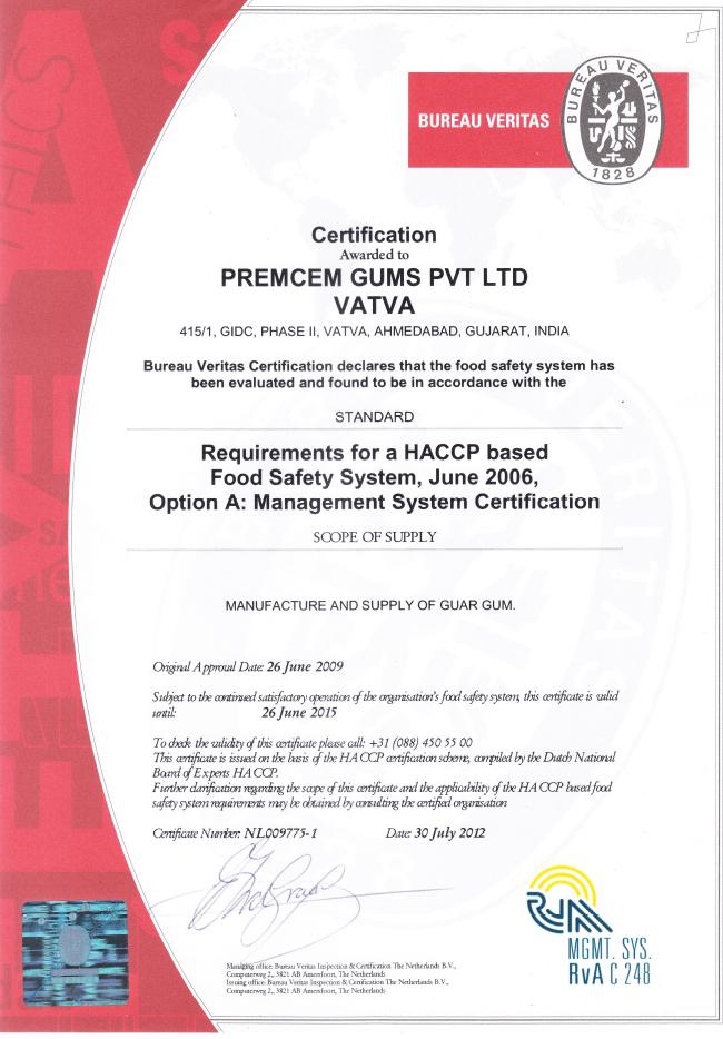 HACCP Ahmedabad